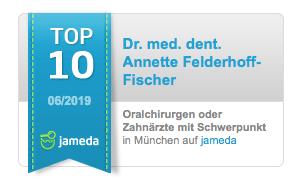 Jameda: Auszeichnung als TOP 10