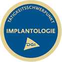 DGI Tätigkeitsschwerpunkt Implantologie
