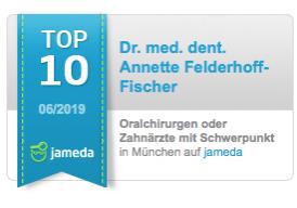 Jameda TOP 10 Juno 2019